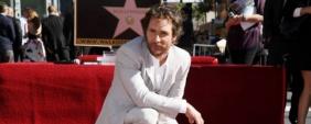 Matthew McConaughey tem estrela no Passeio da Fama